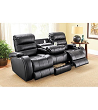 Lane® Prime Black Power Reclining Sofa