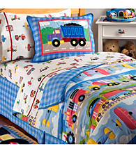 Trains, Planes & Trucks Bedding Collection by Olive Kids