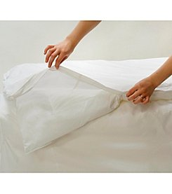Royal Heritage Home® AllerSoft Cotton Dust Mite and Allergy Control Duvet Protector