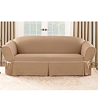 Sure Fit® CVC Duck 1-pc. Loveseat and Sofa Slipcover