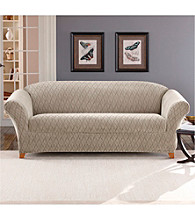 Sure Fit® Stretch Braid 2-pc. Loveseat and Sofa Slipcover