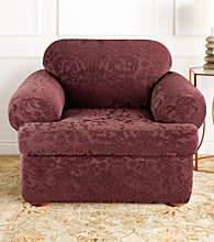 Sure Fit® Strech Jacquard 2-pc. T-Cushion Chair Slipcover