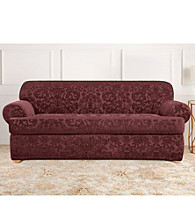 Sure Fit® Stretch Jacquard 2-pc. T-Cushion Loveseat and Sofa Slipcover