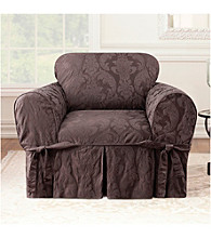 Sure Fit® Matelasse Damask 1-pc. Chair Slipcover