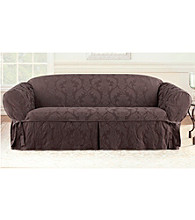 Sure Fit® Matelasse Damask 1-pc. Loveseat and Sofa Slipcover