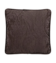 Sure Fit® Matelasse Damask Espresso Pillow