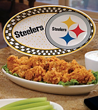 Memory Company Gameday NFL Pittsburgh Steelers Ceramic Platter