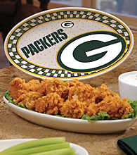 Memory Company Gameday NFL Green Bay Packers Ceramic Platter