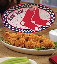 Memory Company Gameday MLB Boston Red Sox Ceramic Platter