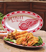 Memory Company Gameday NHL Detroit Red Wings Ceramic Platter