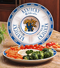 Memory Company Gameday NCAA University of Kentucky Ceramic Chip and Dip Tray