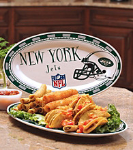 Memory Company Gameday NFL New York Jets Ceramic Platter