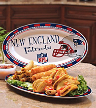 Memory Company Gameday NFL New England Patriots Ceramic Platter
