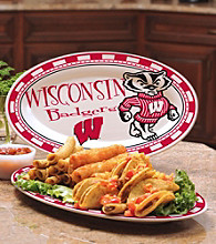 Memory Company Gameday NCAA University of Wisconsin Ceramic Platter