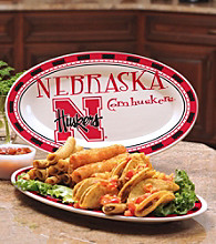 Memory Company Gameday NCAA University of Nebraska Ceramic Platter