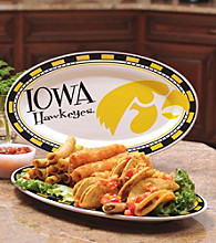 Memory Company Gameday NCAA Univeristy of Iowa Ceramic Platter