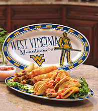 Memory Company Gameday NCAA West Virginia University Ceramic Platter