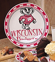 Memory Company Gameday NCAA University of Wisconsin Ceramic Plate