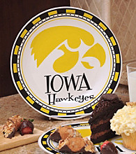 Memory Company Gameday NCAA Univeristy of Iowa Ceramic Plate