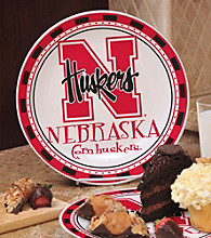 Memory Company Gameday NCAA University of Nebraska Ceramic Plate