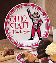 Memory Company Gameday NCAA Ohio State Ceramic Plate