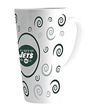 Memory Company Gameday NFL New York Jets 16-oz. Swirl Latte Mug