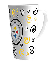 Memory Company Gameday NFL Pittsburgh Steelers 16-oz. Swirl Latte Mug