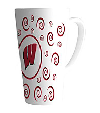 Memory Company Gameday NCAA University of Wisconsin 16-oz. Swirl Latte Mug