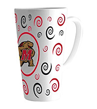 Memory Company Gameday NCAA University of Maryland 16-oz. Swirl Latte Mug