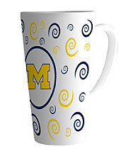 Memory Company Gameday NCAA Univeristy of Michigan 16-oz. Swirl Latte Mug