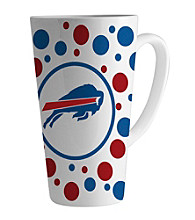 Memory Company Gameday NFL Buffalo Bills 16-oz. Polka Dot Latte Mug