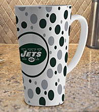 Memory Company Gameday NFL New York Jets 16-oz. Polka Dot Latte Mug