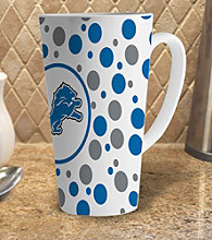 Memory Company Gameday NFL Detroit Lions 16-oz. Polka Dot Latte Mug