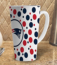 Memory Company Gameday NFL New England Patriots 16-oz. Polka Dot Latte Mug