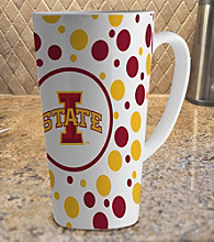 Memory Company Gameday NCAA Iowa State University 16-oz. Polka Dot Latte Mug