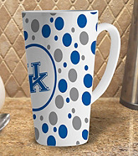 Memory Company Gameday NCAA University of Kentucky 16-oz. Polka Dot Latte Mug