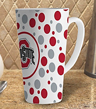 Memory Company Gameday NCAA Ohio State 16-oz. Polka Dot Latte Mug