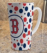 Memory Company Gameday MLB Boston Red Sox 16-oz. Polka Dot Latte Mug