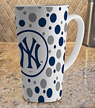 Memory Company Gameday MLB New York Yankees 16-oz. Polka Dot Latte Mug