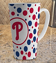 Memory Company Gameday MLB Philadelphia Phillies 16-oz. Polka Dot Latte Mug
