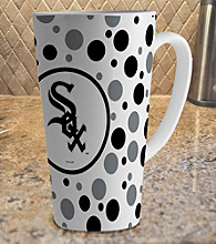 Memory Company Gameday MLB Chicago White Sox 16-oz. Polka Dot Latte Mug