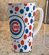 Memory Company Gameday MLB Chicago Cubs 16-oz. Polka Dot Latte Mug