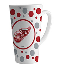 Memory Company Gameday NHL Detroit Red Wings 16-oz. Polka Dot Latte Mug