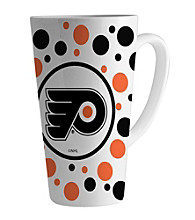 Memory Company Gameday NHL Philadelphia Flyers 16-oz. Polka Dot Latte Mug