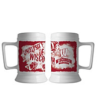 Memory Company Gameday NCAA University of Wisconsin 16-oz. Graffiti Design Stein
