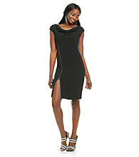 Evan-Picone® Zipper Dress