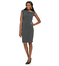 Evan-Picone® Jewel Trim Sheath Dress