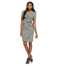 Evan-Picone® Striped Dress