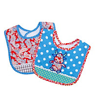 Trend Lab 2-pk. Mommy's Little Monster Bibs