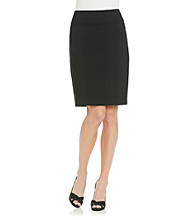 Briggs New York® Wide Waistband Pencil Skirt
